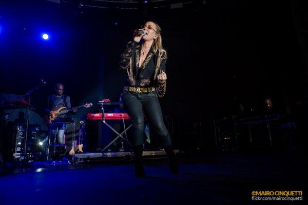 American singer Anastacia peforms live at Fabrique in Milano, Italy