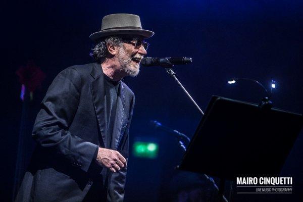 Francesco De Gregori performs live at Alcatraz in Milano, Italy, on March 23 2016