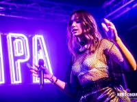 English singer, songwriter and model Dua Lipa performs live in Milano, Italy
