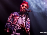 French pop-soul singer Imany performs live in Milano, Italy