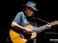 Neil Young performs live in Milano, Italy