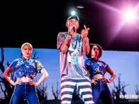 Pharrell Williams performs live in Milano, Italy