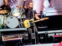 Bruce Springsteen performs live at Stadio San Siro in Milano