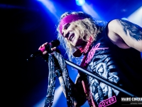 Steel Panther performs live in Milano, Italy