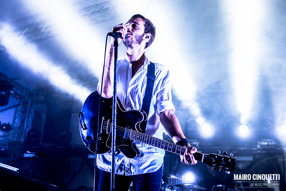 Editors performs live in Milano, Italy