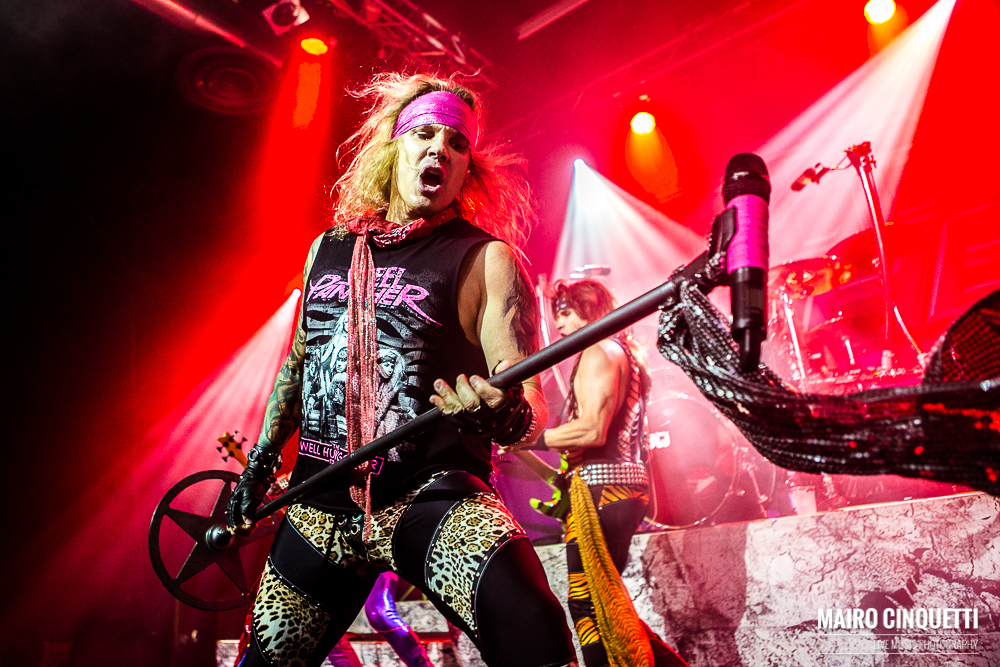 Steel Panther performs live at Alcatraz in Milano, Italy, on September 28 2016