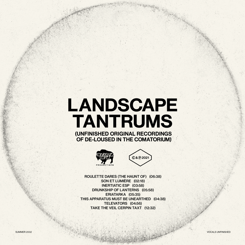 The Mars Volta – Landscape Tantrums (Unfinished Original Recordings Of De-Loused In The Comatorium)