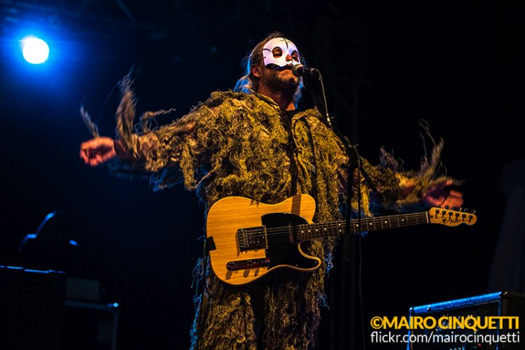 Tre Allegri Ragazzi Morti performs live at Carroponte in Milano